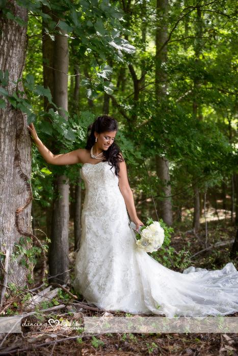 Bride tree bouquet